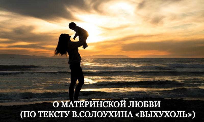 О материнской любви (по тексту В.Солоухина «Выхухоль»)